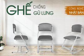 Ghế chống gù Nissin bảo vệ vóc dáng người Việt