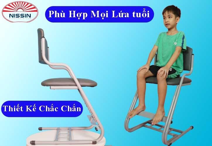 Tính năng ghế chống gù nissin